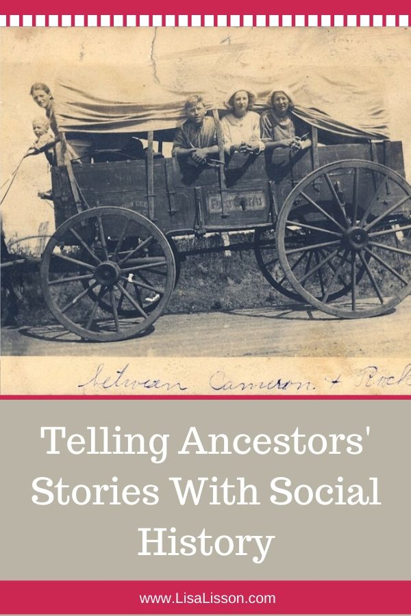 Need more clues for your genealogy research? Explre online and offline sources for social history impacting your ancestors' lives.