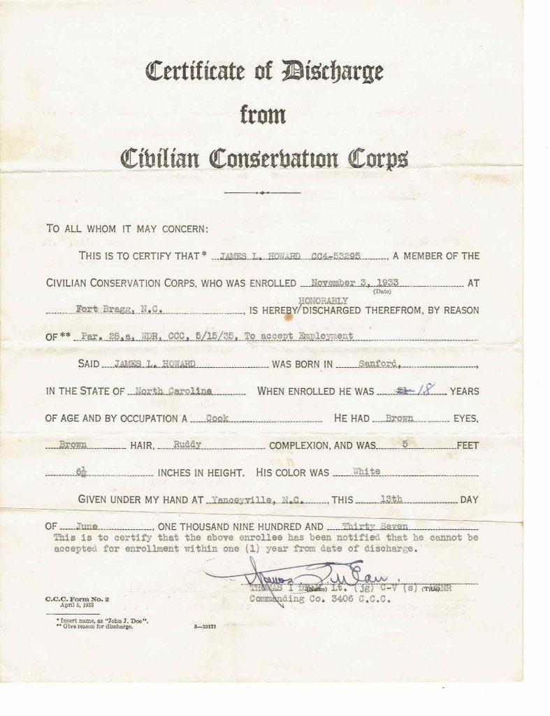 CCC Record