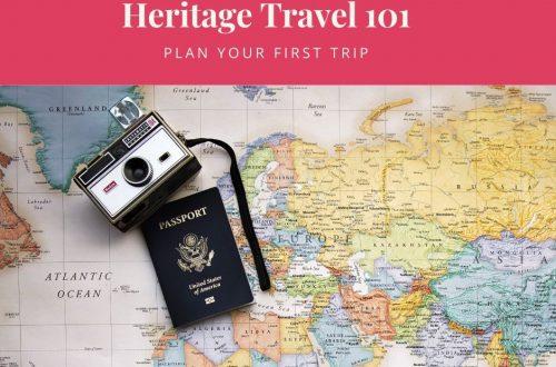 heritage travel 101