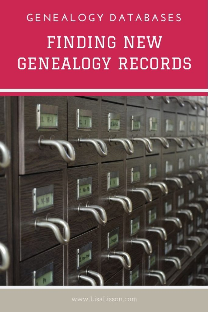 Genealogy companies are update their record collections frequently. Learn how to find and keep up with newly added genealogy records at the large genealogy databases.