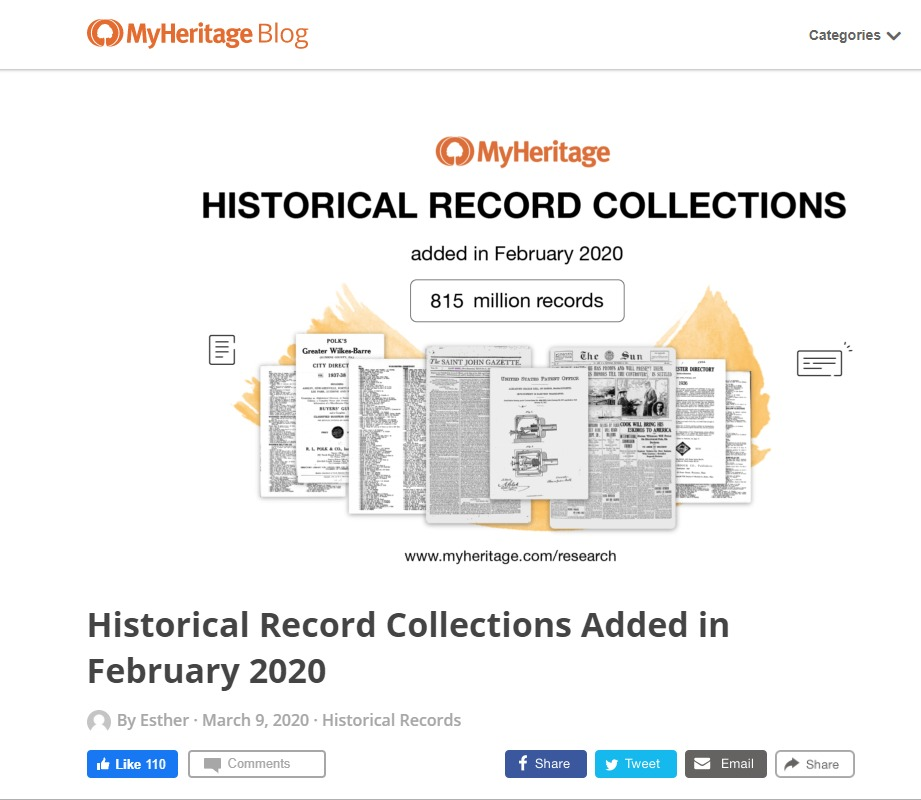 myheritage-new-genealogy-records