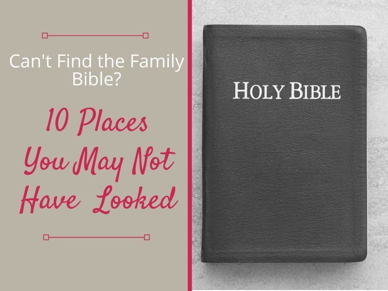 find the family bible title