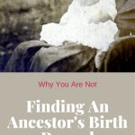 1920's baby for why you are not finding your ancestor's birth record