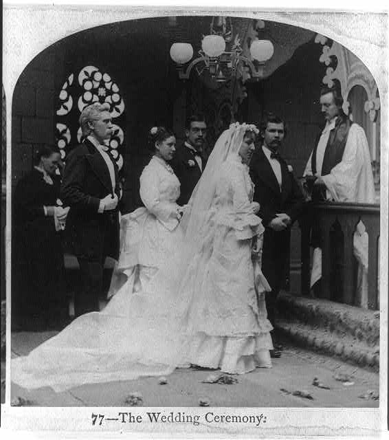 1860 bride and groom