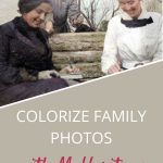 color photo of 3 women in 's