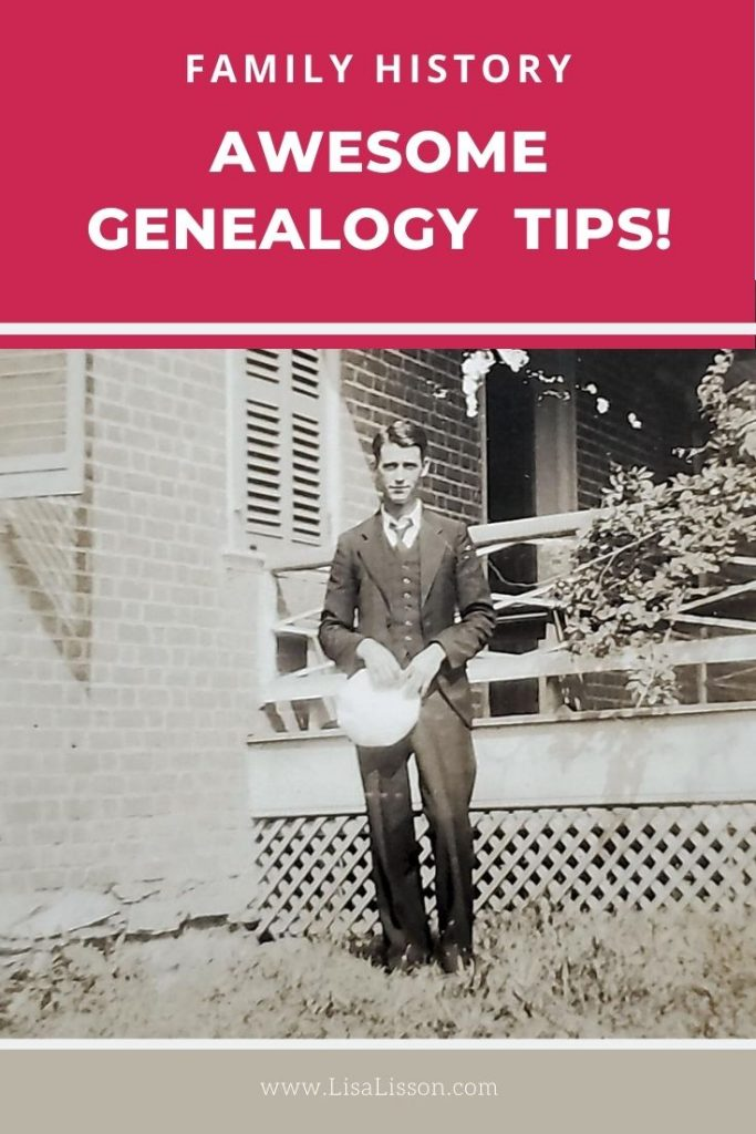 Need a few genealogy tips to get your genealogy research moving again? Try one (or all!) of these 14 best genealogy tips!