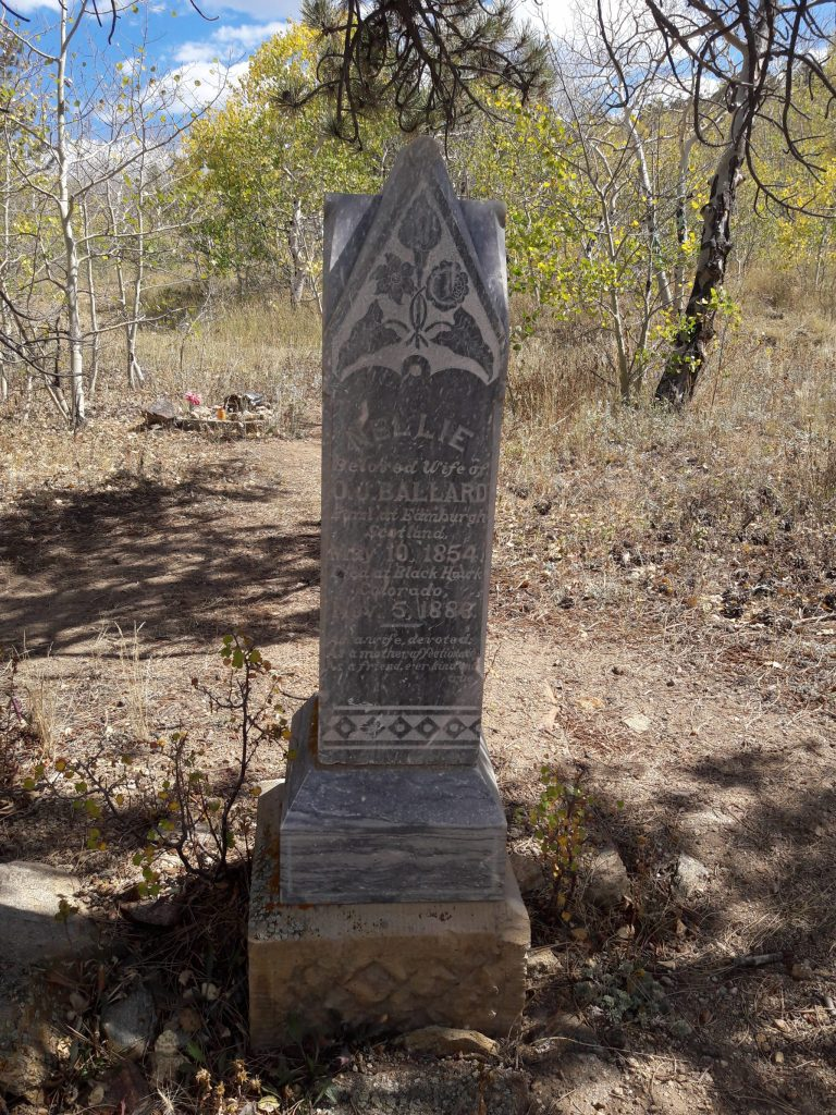 vertical tombstone