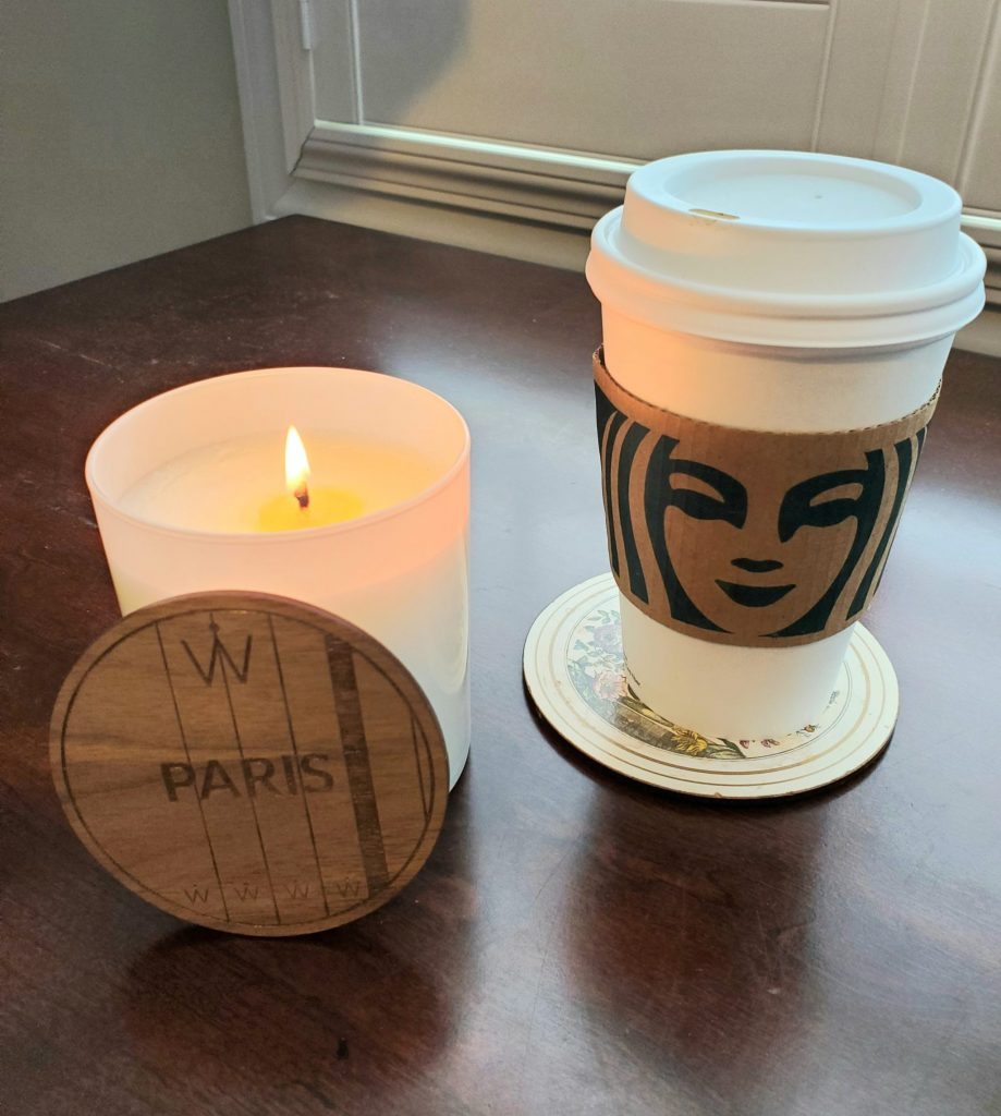 Waypoint Paris Candle to experience genealogy