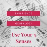 music notes with experience genealogy