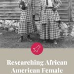 pin with early 1900s african american women
