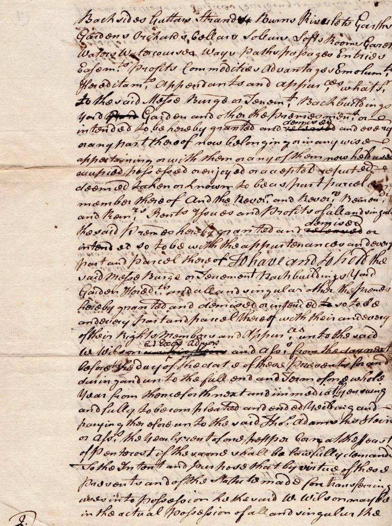 old Bitisih document