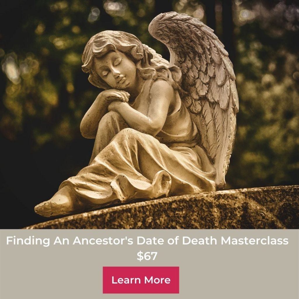 angel on gravestone