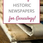finding historic newspapers