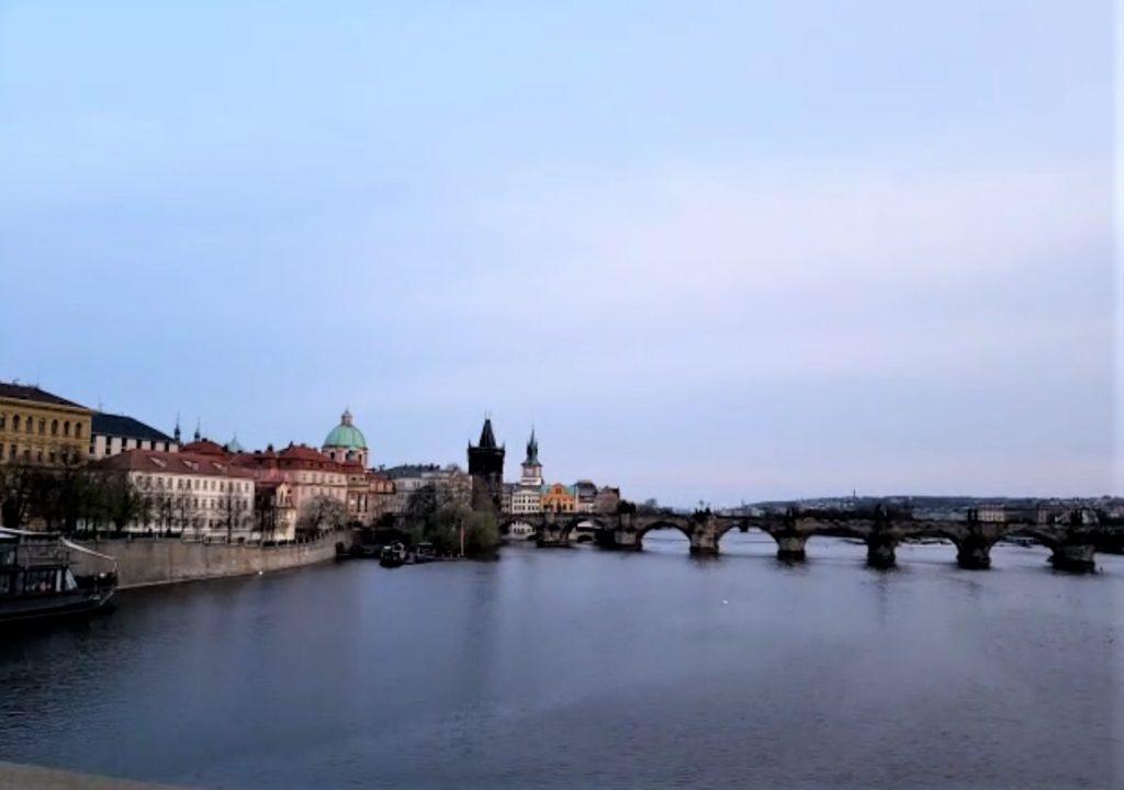 View of Vltava River