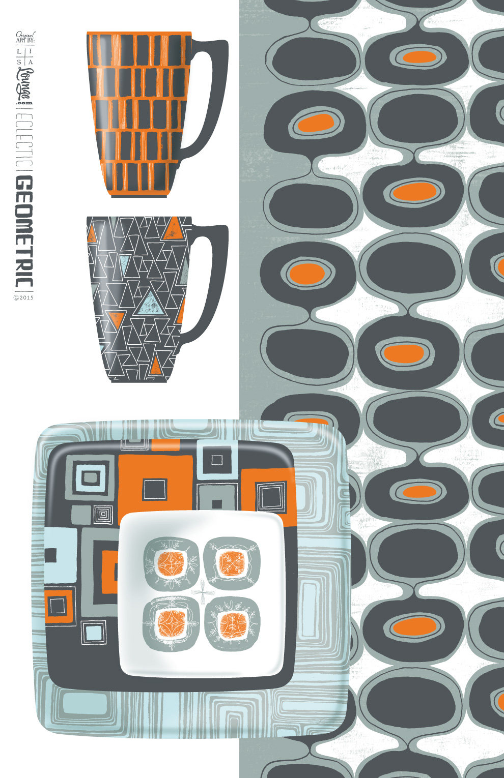 Eclectic Geometric Licensed Products