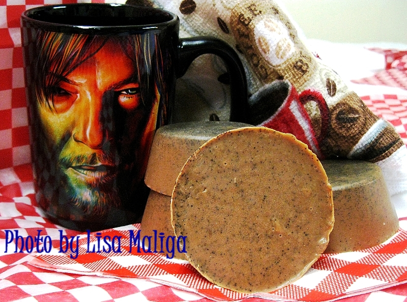 Kitchen Soap for Chefs: 4 Easy Melt & Pour Soap Recipes ~ New eBook Serves Cooks & 'The Walking Dead' Fans