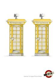 Yellow Phone Box: Concept Artwork
