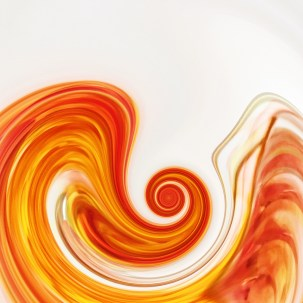 Orange Wave.1 ©lisamariewaddell