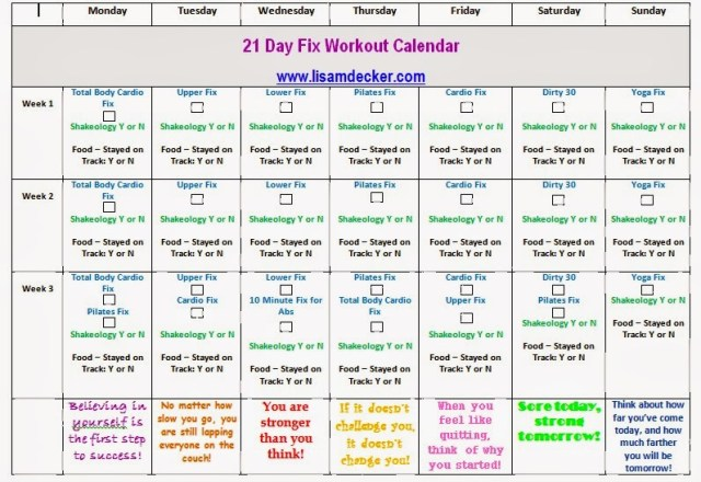 21 day fix tracking sheet, 21 day fix workouts
