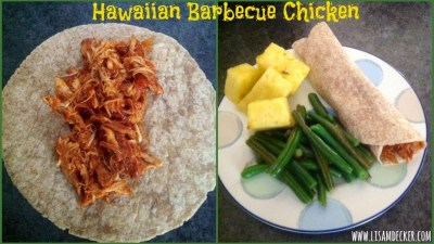 Clean Eating, Hawaiian Barbecue Chicken
