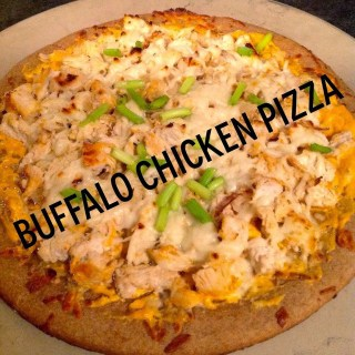 Healthy Buffalo Chicken Pizza, Clean Eating, Healthy Dinner Ideas