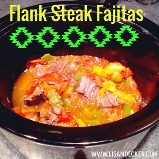 21 Day Fix Dinners, Flank Steak Fajitas, Crock Pot Fajitas, Clean Eating