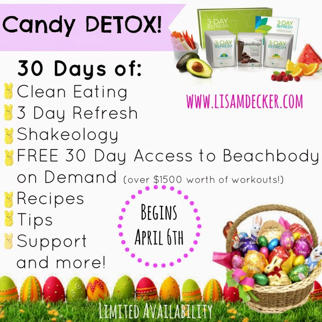 3 Day Refresh, Shakeology, Detox, 3 Day Cleanse, Clean Eating, Candy Detox