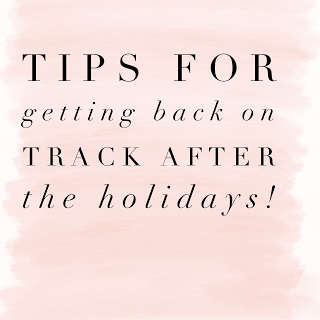 How To Get Back on Track After the Holidays