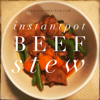 Instant Pot Recipes, Instant Pot Beef Stew, Beef Stew, Meal Planning, Healthy Recipes, Comfort Foods, Successfully Fit, Lisa Decker