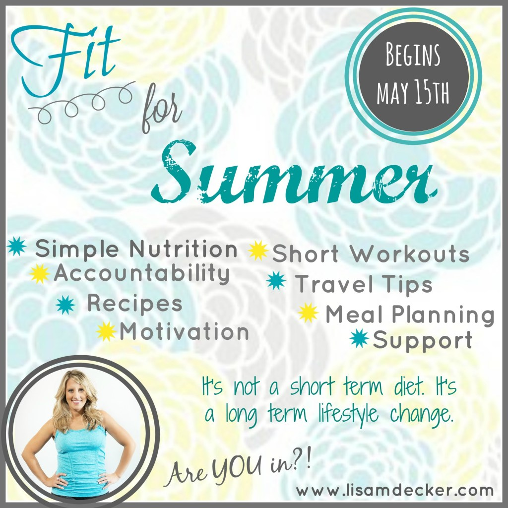 Fit for Summer Virtual Accountability Group
