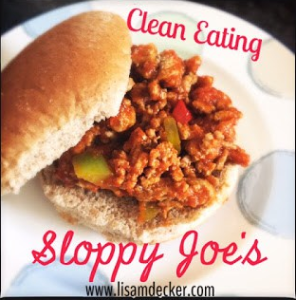 Sloppy Joe Recipe, Healthy Sloppy Joe's