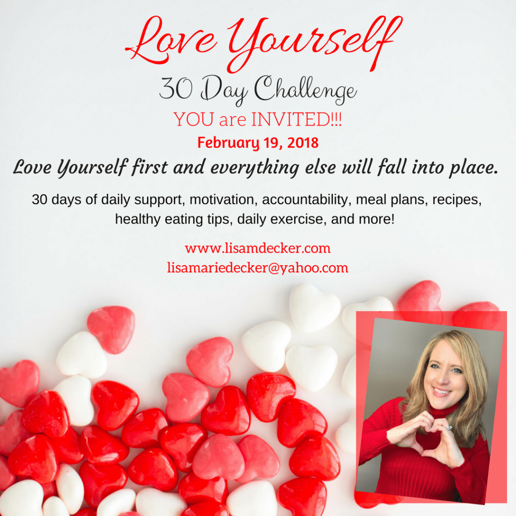 Love Yourself Health and Fitness Challenge