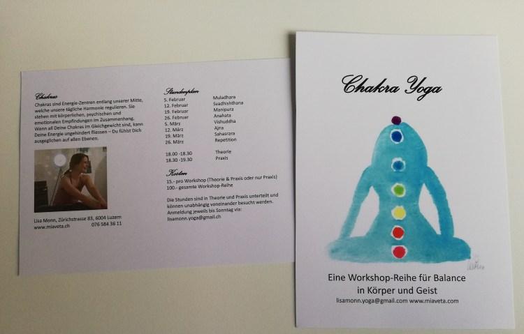 Chakra Yoga Flyer