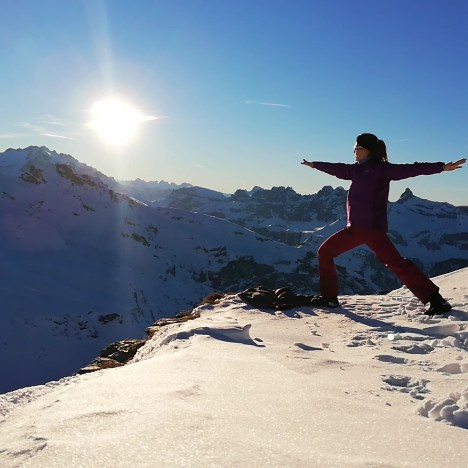 Schneeschuhwanderung zur Leglerhütte – ein gelungenes Geburtstagsgeschenk