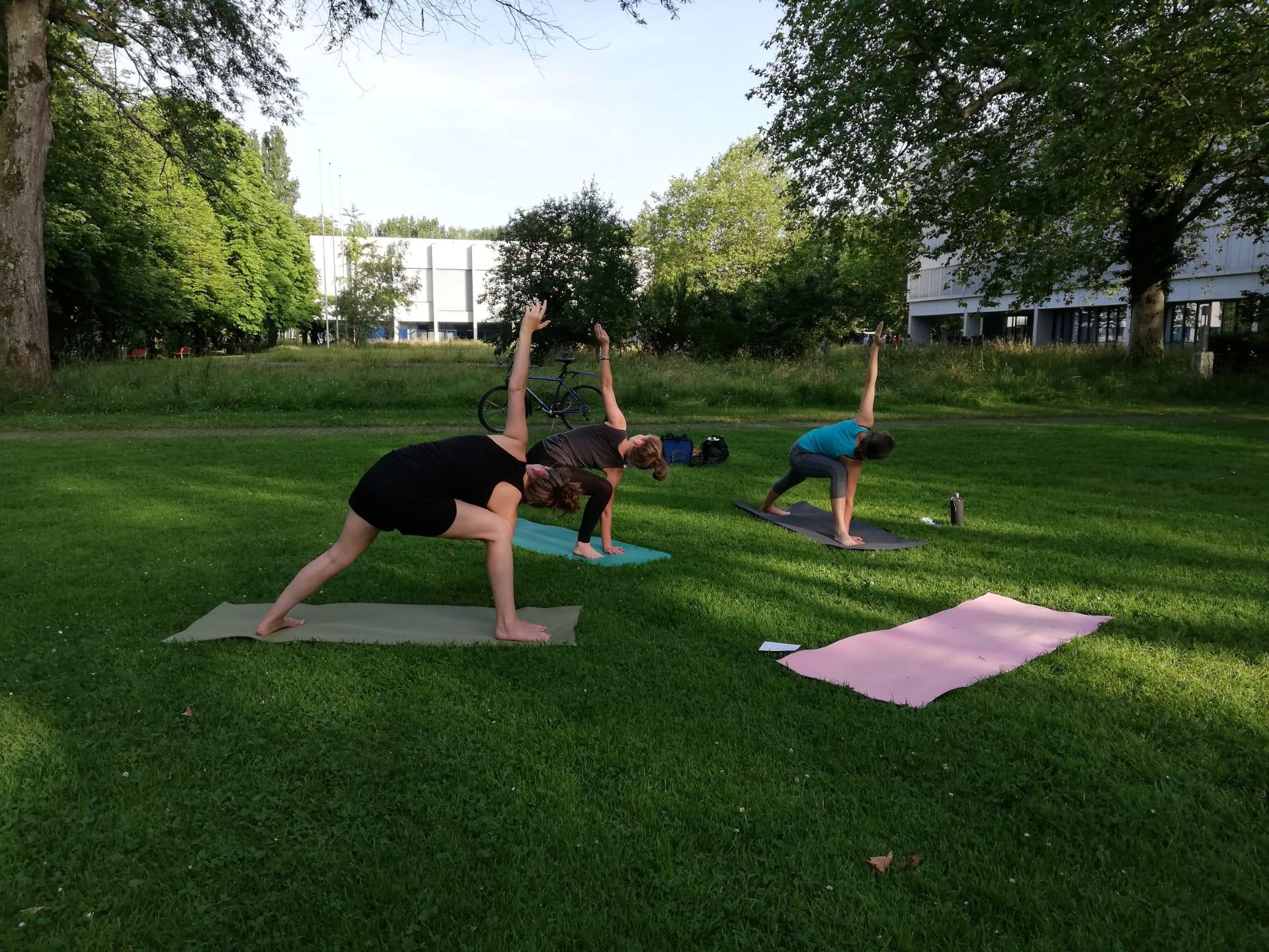 Yoga Outdoor Zürich