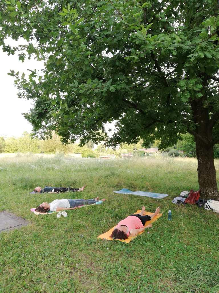 Physio-Yoga auf der Werdinsel Outdoor in Zürich