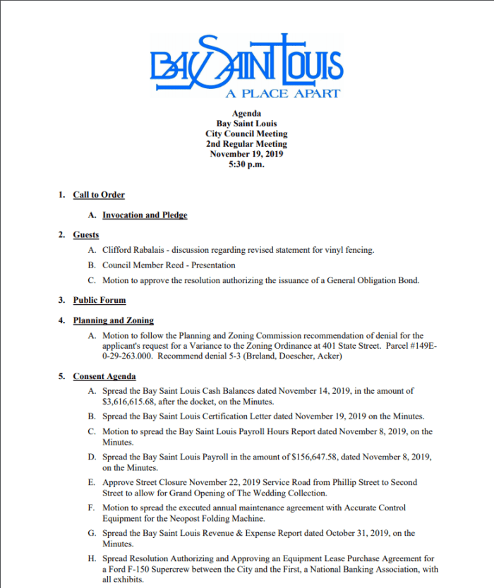 Please see new updated agenda and attachment.