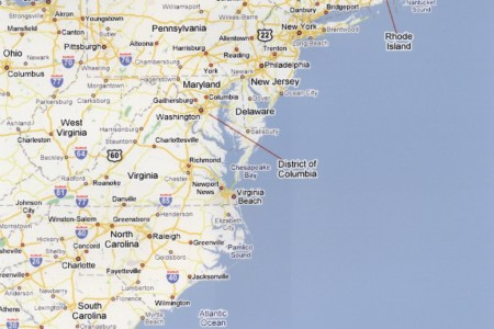 map eastern seaboard usa » Free Wallpaper for MAPS | Full Maps