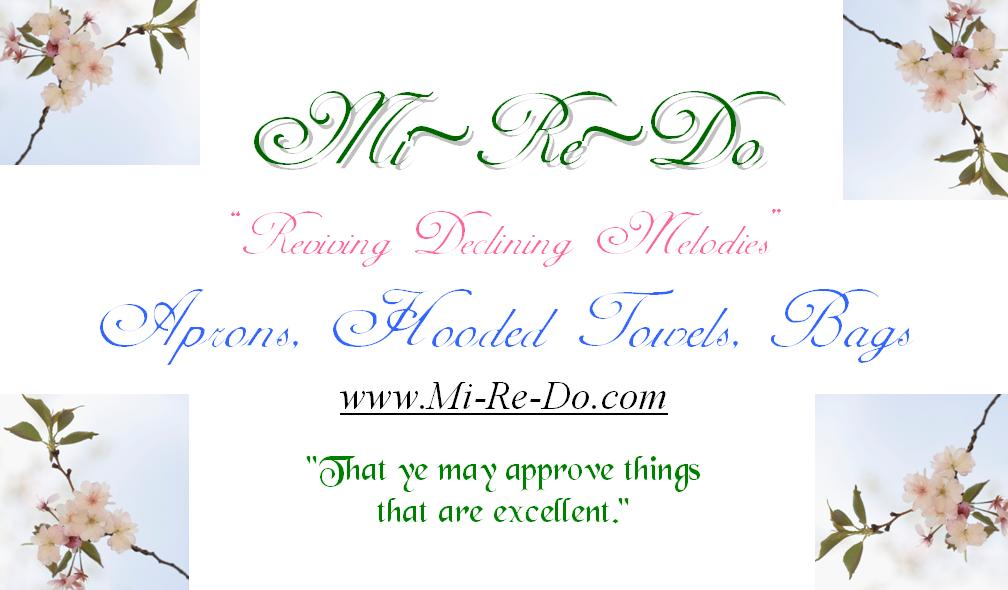 Large Mi-Re-Do Business Card