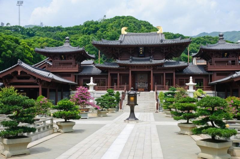 chinese temple bonsai