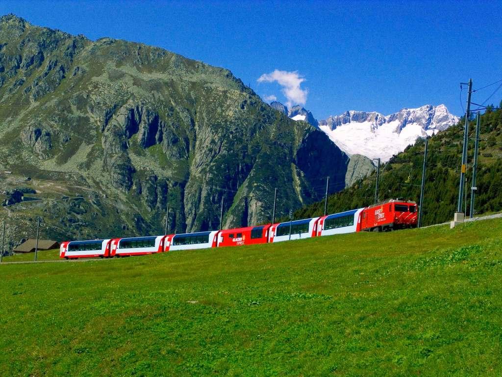 Panorama Zug, Glacier Express