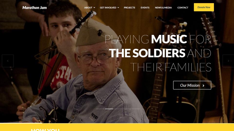 Marathon Jam Website