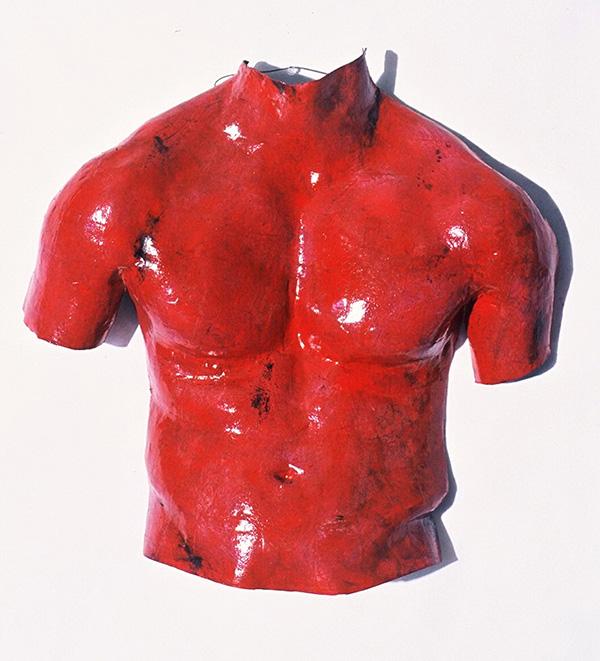 Red Male Torso