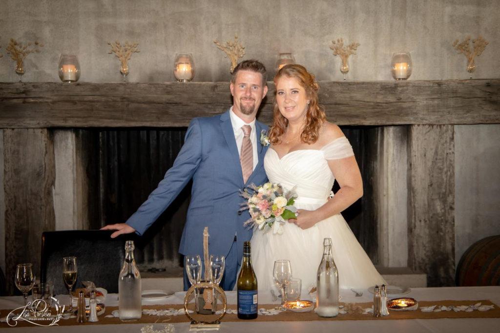 Wedding Reception at Pencarrow Lodge, Wellington