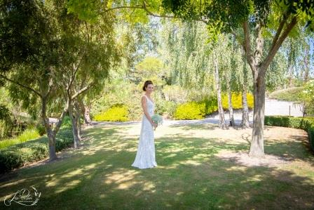 Bride at Lismore House, Martinborough
