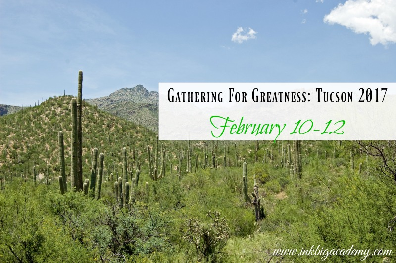 InkBig Academy Gathering for Greatness Tucson 2017, training for Stampin'Up! Demonstrators