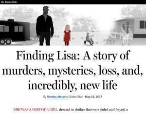 Boston Globe: Finding Lisa