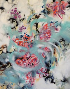 Adept 5×4 ft oil on canvas $1500