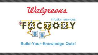 Interactive quiz for parents and children who have blood diseases