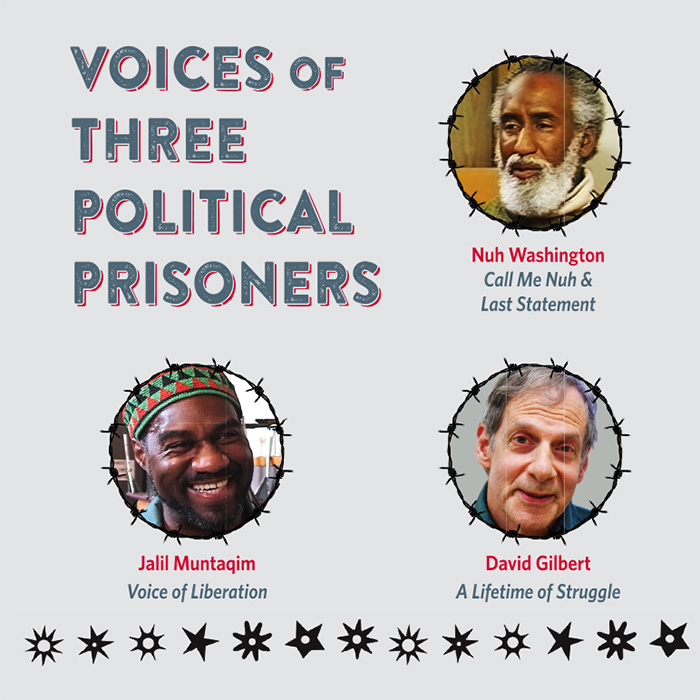 Voices of 3 political prisoners DVD Sleeve v3.indd